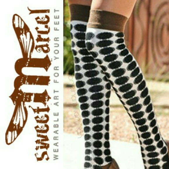 46bef08e29a Sweet Marcel Over the Knee Misfit Socks